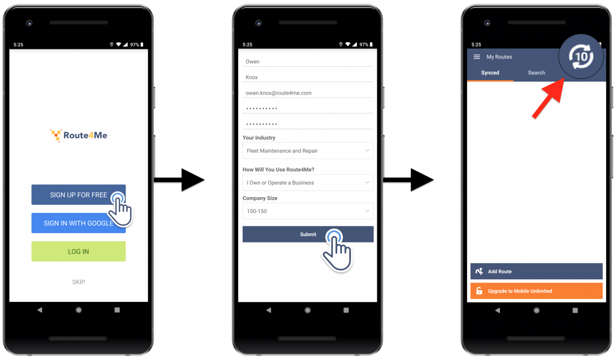 Downloading and Installing Route4Me's Android Route Planner on Your Android Smartphone (Google Play Store)