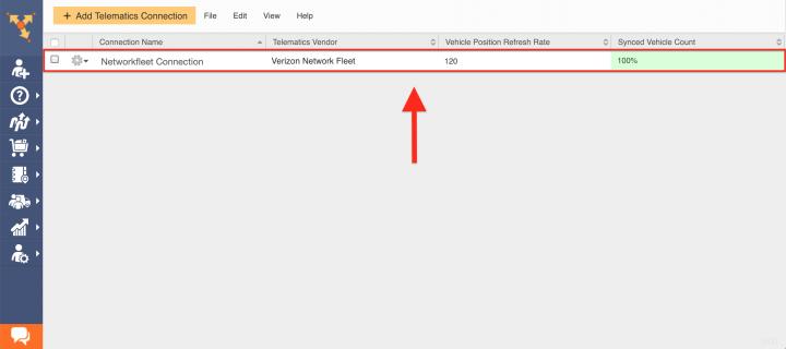 Route4Me's Telematics Integration with Verizon Networkfleet