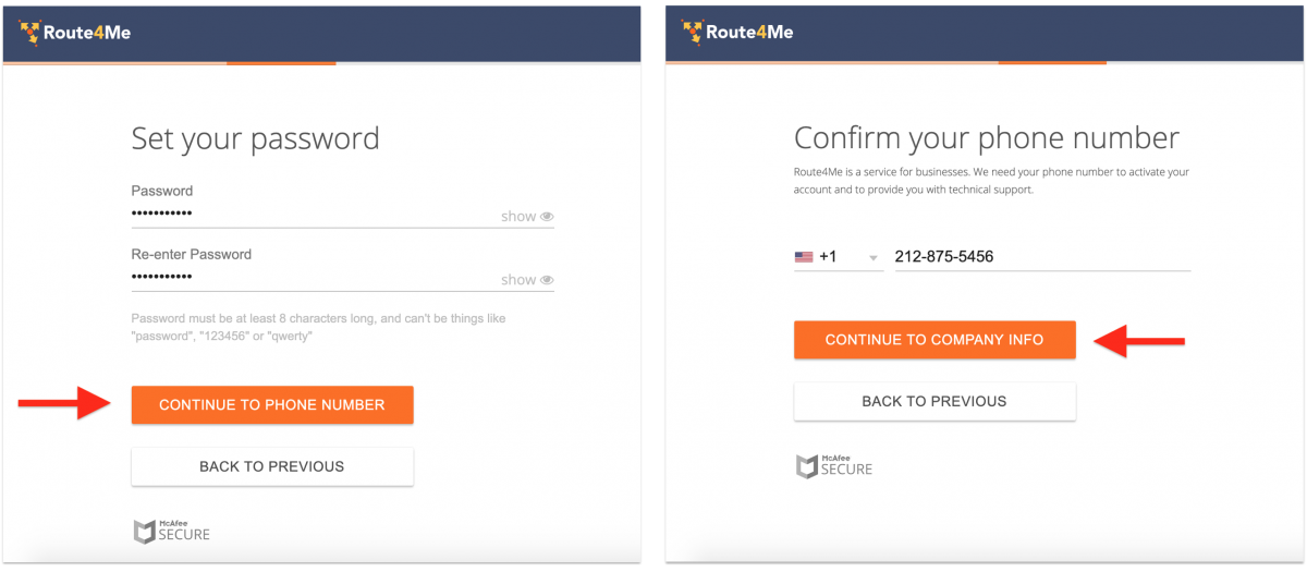Customizing Your Subscription Plan with Route4Me's Marketplace and Creating a New Web Account