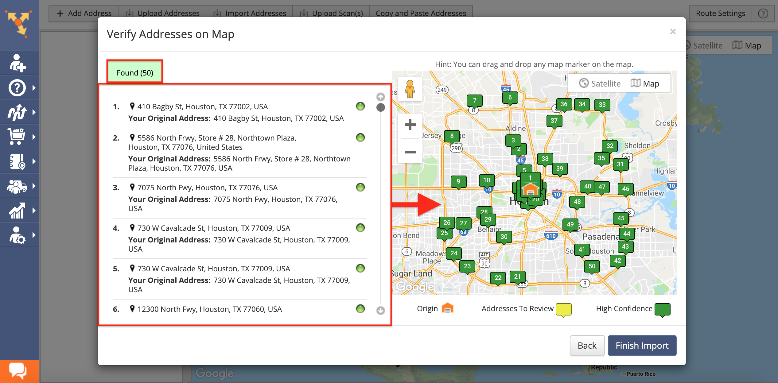 Multiple Drivers Route Optimization - Route4Me Support on address home, address email, address locator, address search, address numbers, address letter, address art,