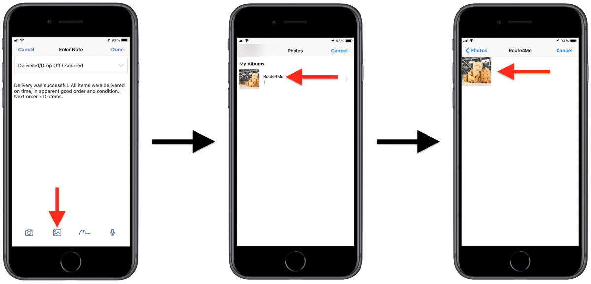 Adding Notes to Stops Using Route4Me's iPhone Route Planner