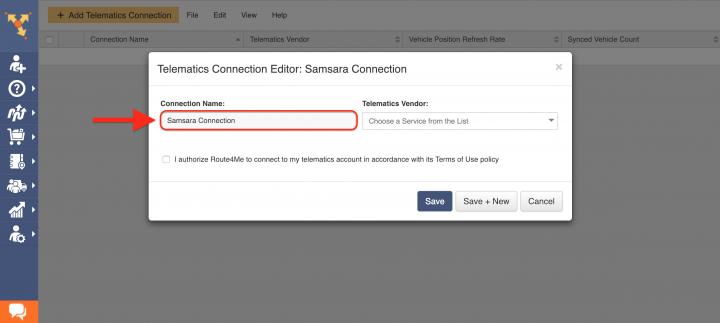 Route4Me's Telematics Integration with Samsara