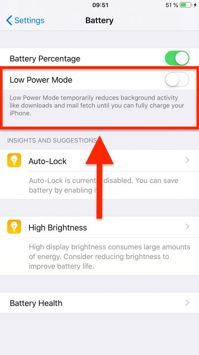 Route4Me iOS App Average Battery Consumption and Low Power Mode