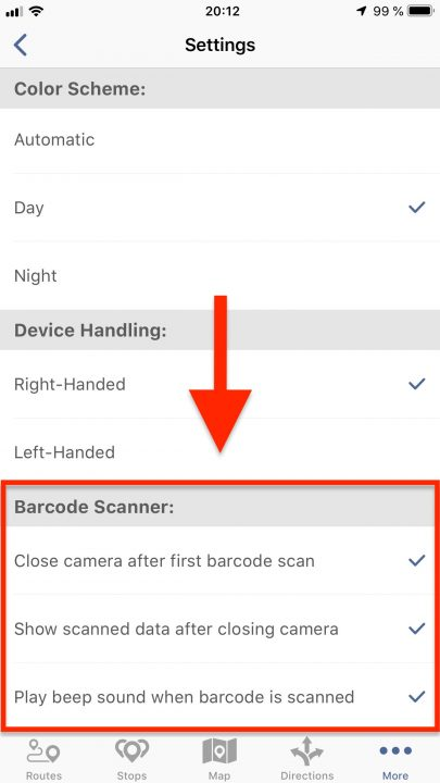 Scanning E-Ink Barcodes from Digital Labels with Route4Me's iOS Barcode Scanner