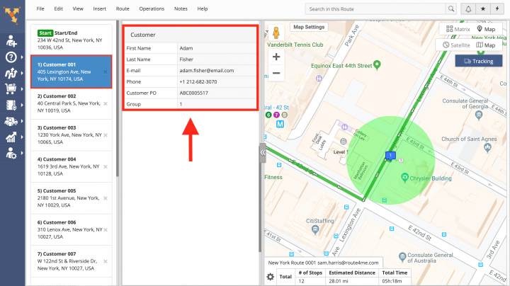 Using Placeholders with Customer Alerting and Notifications - Inserting Route4Me Fixed Attributes into Notifications