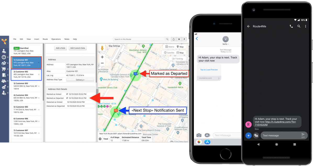 Notify Next Customer - Customer Alerting and Notifications