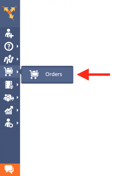 Downloading and Copying Orders from the Orders Map