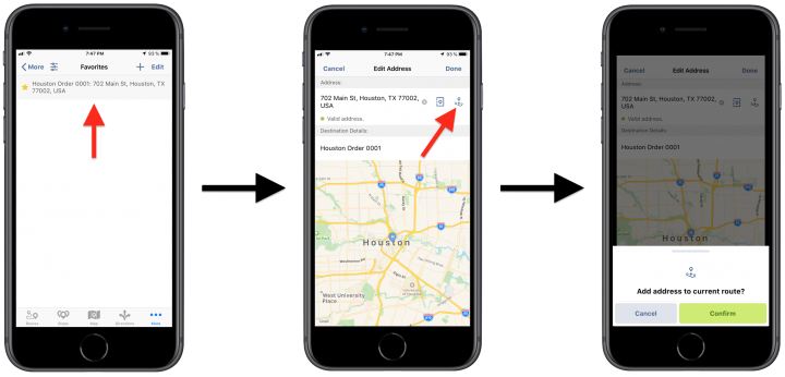 Inserting E-Commerce Orders into Planned Routes Using Route4Me's iPhone Route Planner