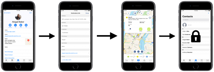 Route4Me Privacy and Security - Route4Me's iPhone Route Planner