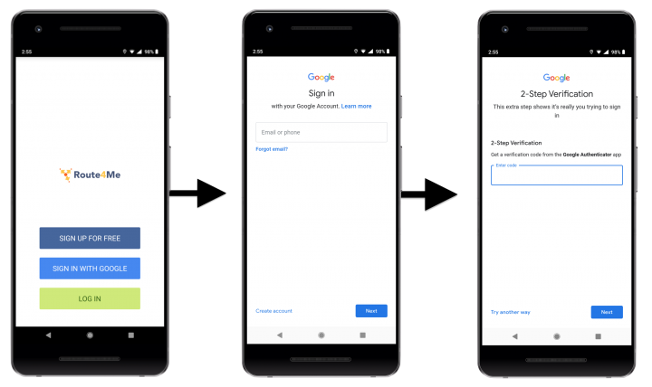 Route4Me Privacy and Security - Route4Me's Android Route Planner
