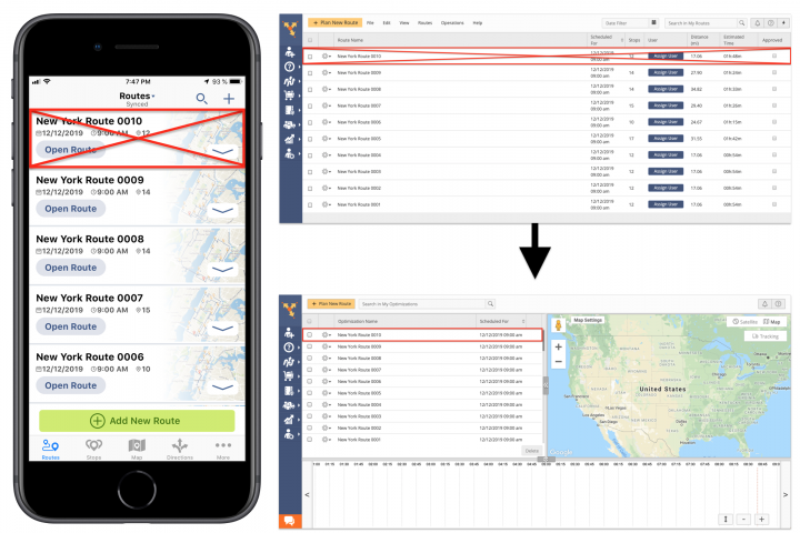 Restoring Routes Deleted from the Route4Me iPhone App Using Route4Me Web Optimizations