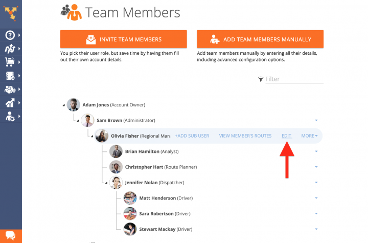 Read Only - Enabling the Read Only Mode for Team Member Accounts Using the Route4Me Web Platform