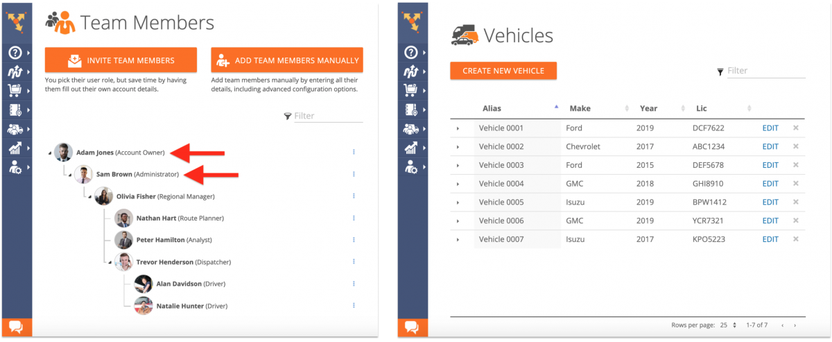 Deleting Vehicles from Your Fleet on the Route4Me Web Platform