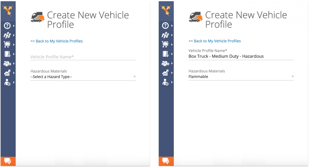 Route4Me Commercial Routing - Creating and Customizing Commercial Vehicle Profiles on the Route4Me Web Platform