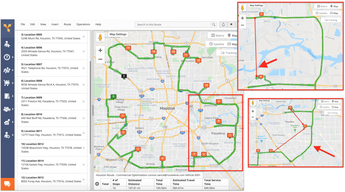 Route4Me Commercial Vehicle Route Planning and Optimization