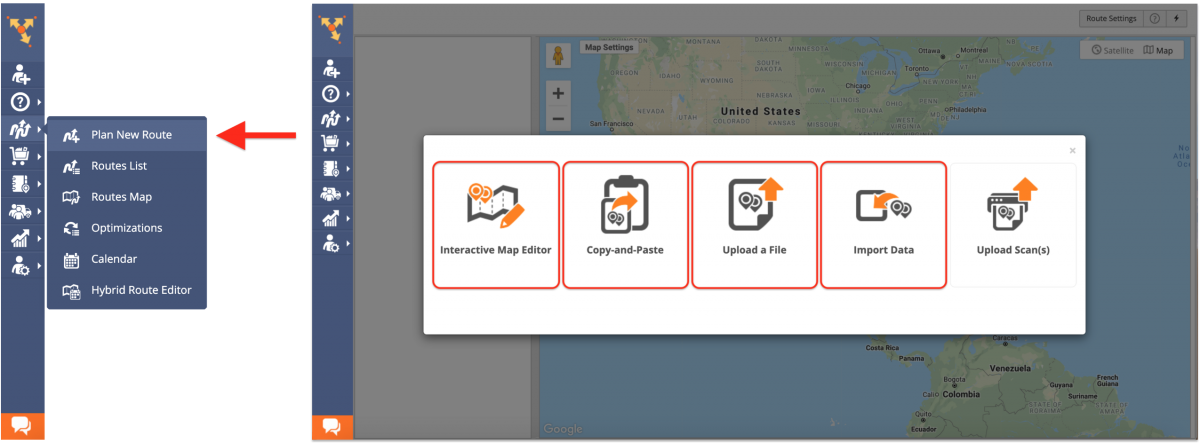 Assigning Users to Routes When Specifying Route Parameters - Route4Me Web Platform