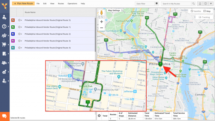 Distributor Cross-Docking Route4Me Route Planning and Optimization