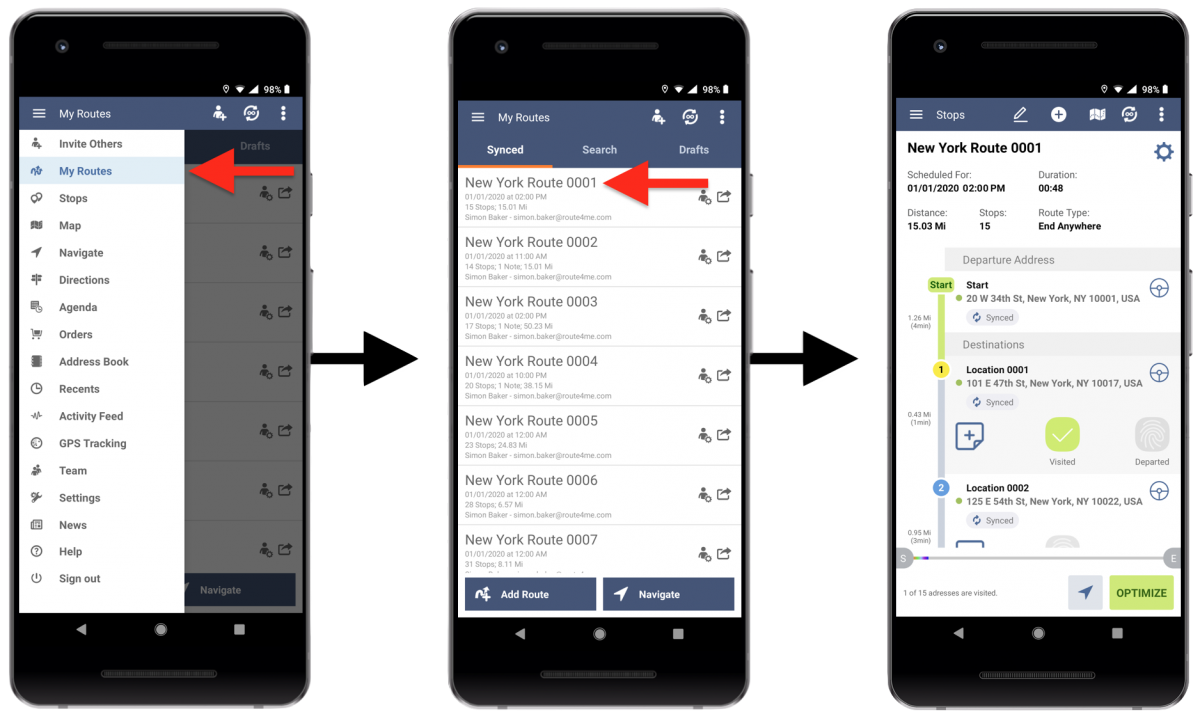 Signature Capture - Collecting Customer Signatures Using Route4Me's Android Route Planner