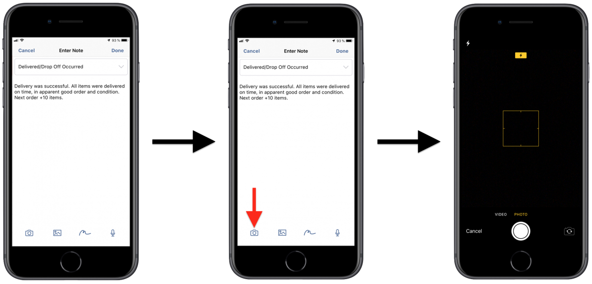 Image Attachments - Attaching Photos to Your Route Destinations Using Route4Me's iPhone Route Planner