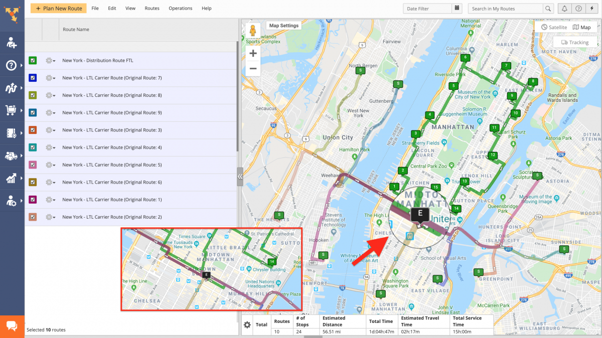 Transportation Cross-Docking Route4Me Route Planning and Optimization
