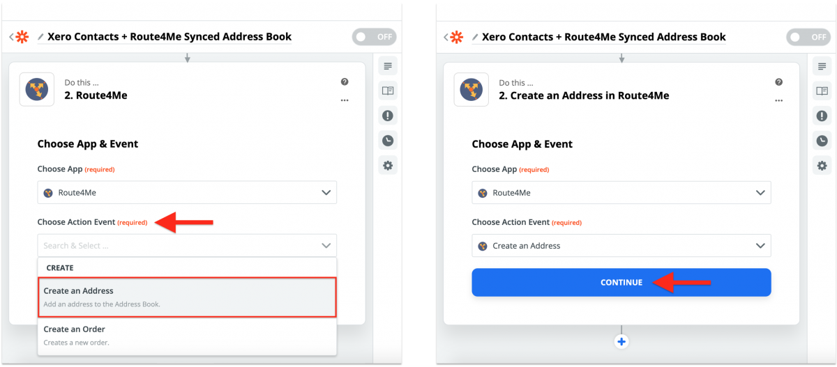 Xero Integration With Route4Me via Zapier - Synchronizing Xero Contacts With the Route4Me Synced Address Book
