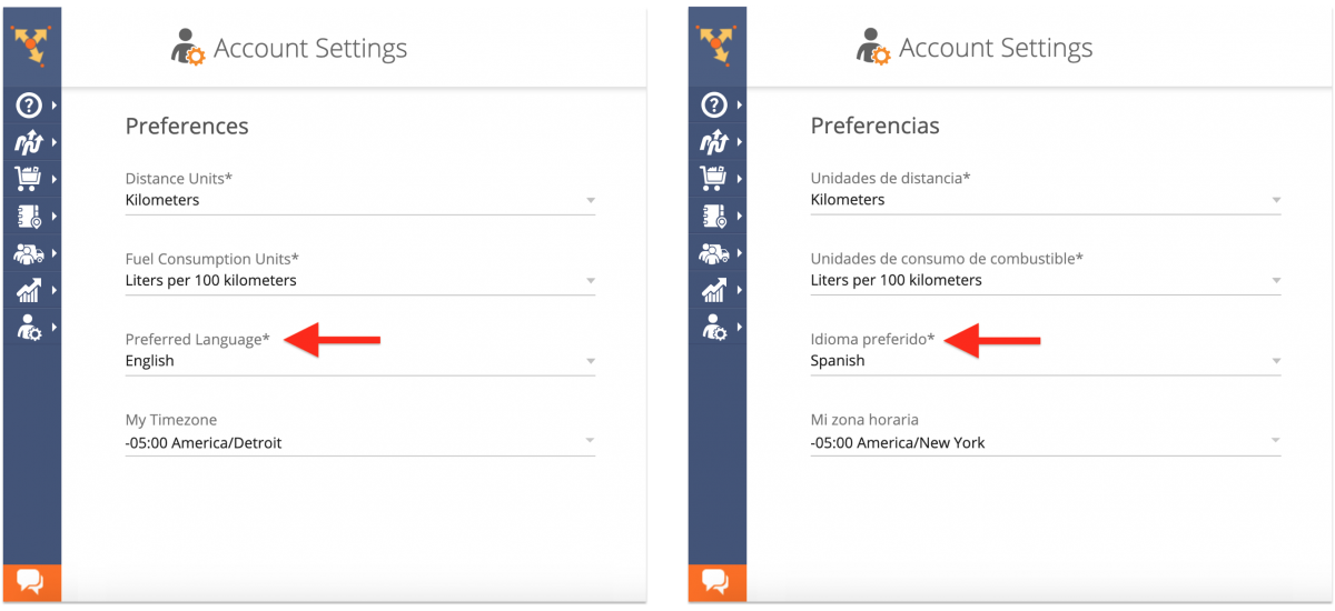 Account Preferences - Adjusting Your Route4Me Web Account Preferences