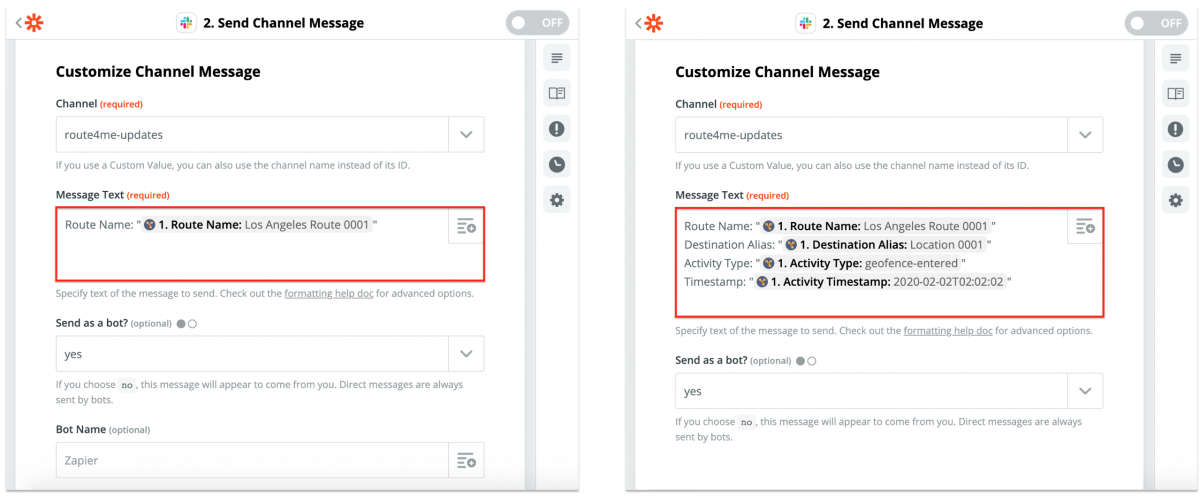 Slack Integration With Route4Me via Zapier - Synchronizing Your Route4Me Account Updates With a Dedicated Slack Channel