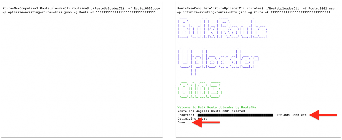 Bulk Route Uploader - Route4Me's Command-Line Automation Tool for Windows, macOS, and Linux