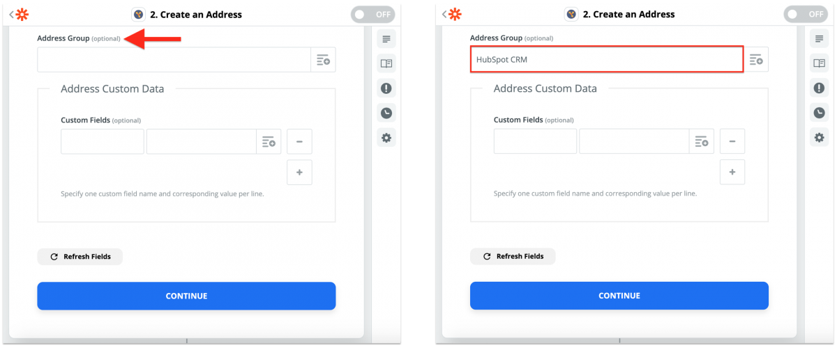 HubSpot CRM Integration With Route4Me via Zapier – Synchronizing HubSpot CRM Contacts With the Route4Me Synced Address Book