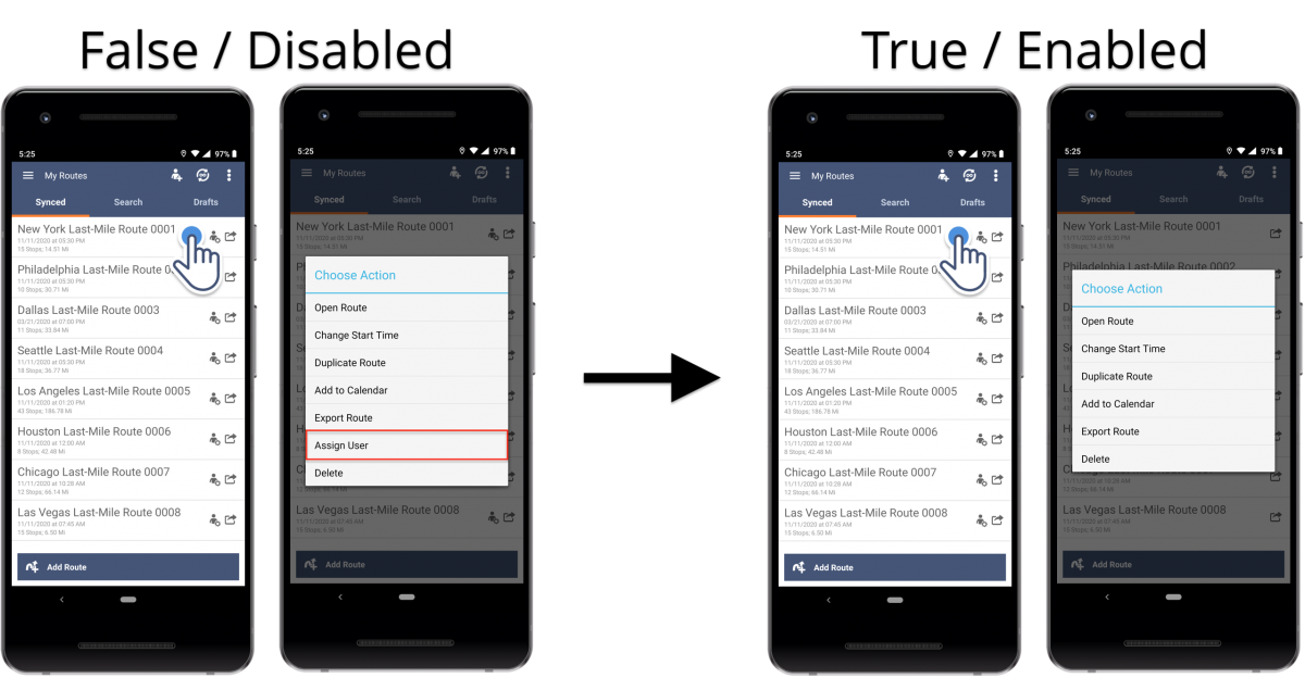 Route4Me Android Route Planner White Labeling Features