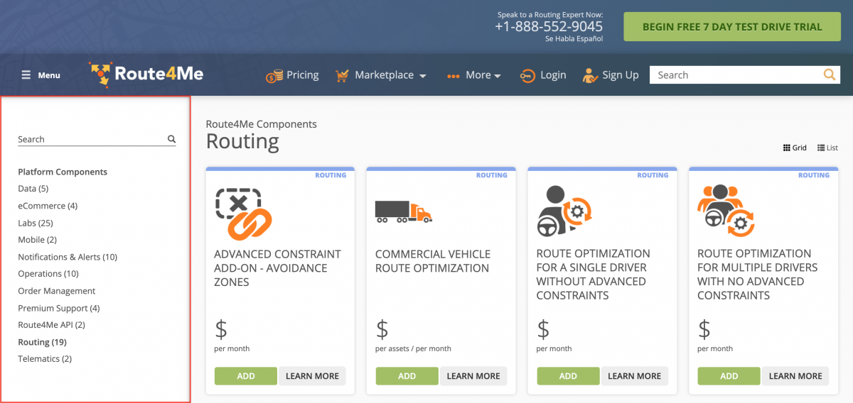 Share Quote - Sharing a Marketplace Package Quote from the Route4Me Web Platform