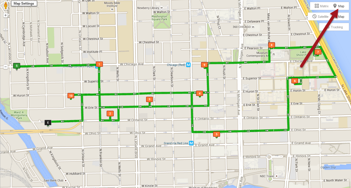 Route4Me is route mapping software that customizes map views