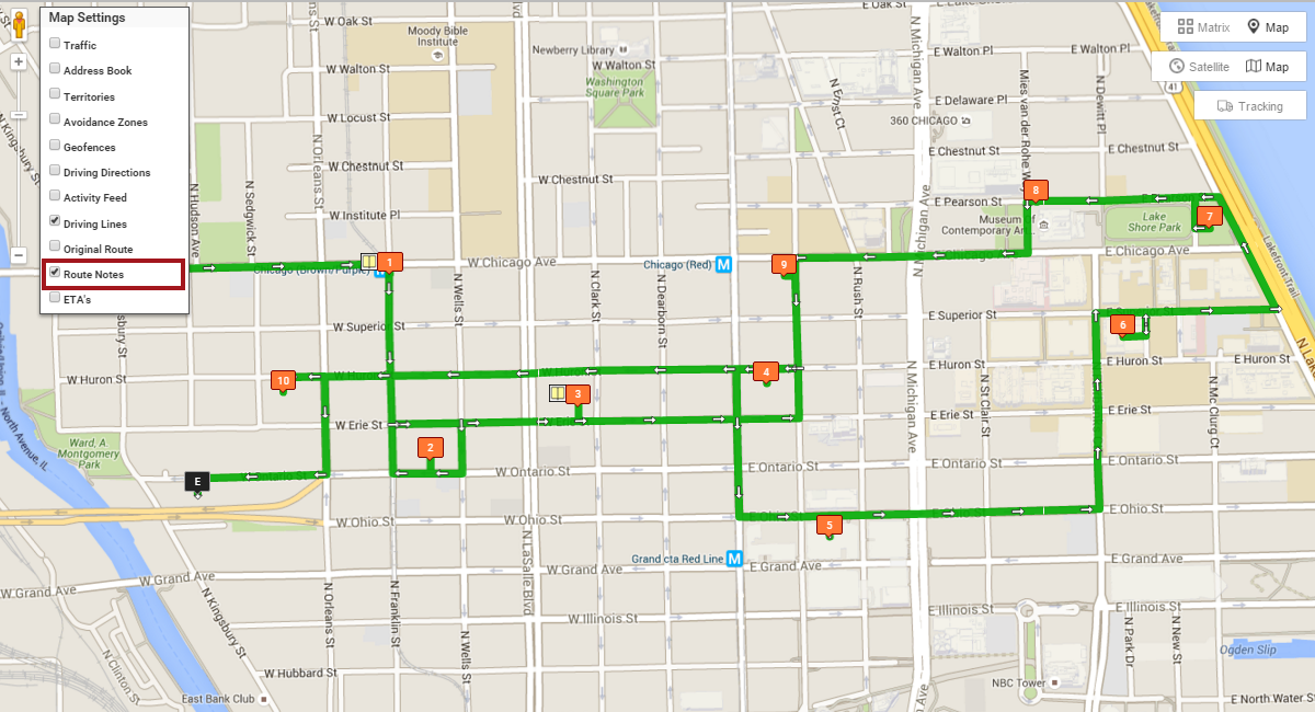 Route4Me as driving route planner that add layers to your map