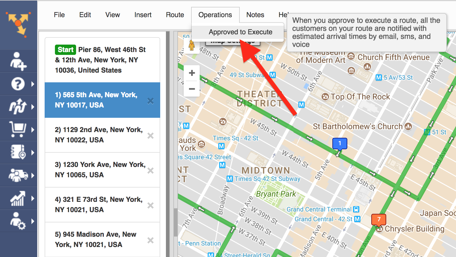 Route4Me's GPS tracking allows your customers to track their orders in real time