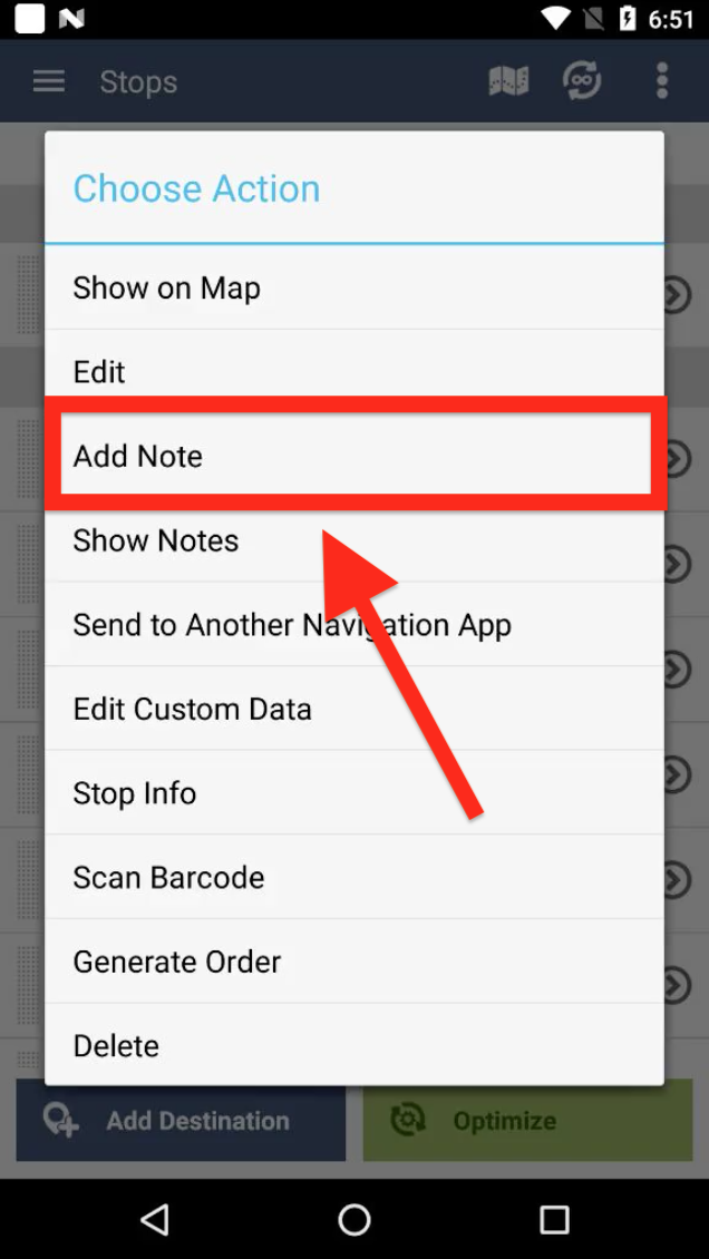 Add Notes to the Stops on your Routes with Route4Me