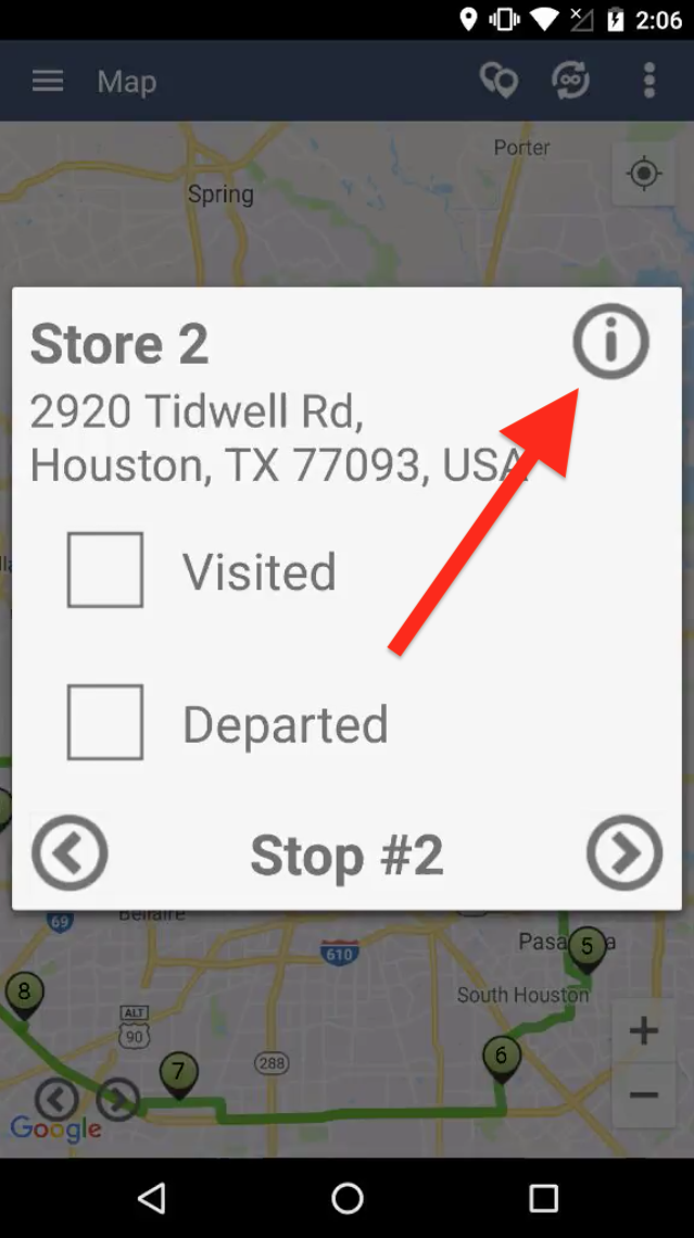 Use Route4Me's Android App to View your Routes on a Map
