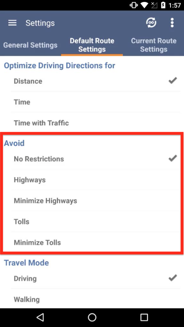 Using Advanced Route Planning Features on an Android Device with Route4Me - the Best Route Planner